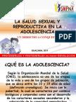 Taller de La Salud Sexual y Reproductiva en La Adolescencia