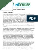 Barrett Cheshire Home 2010
