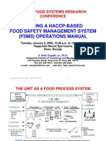 PRINCIPLES OF FOOD SANITATION, SAFETY & HYGIENE | Foodborne Illness
