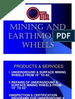 Otr Mining & Earth Mover Wheels