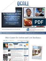 Ohio Center for Autism and Low Incidence Webinar with Autism NOW May 31, 2011