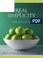 Real Simplicity by Rozanne & Randy Frazee, Excerpt