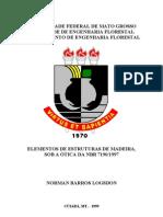 Elementos de Estruturas de Madeira