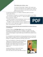 RESEÑA HISTORICA DEL FUTBOL  SALA