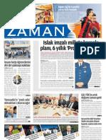Islak İmzalı Millete Komplo Planı 6 Yıllık Projenin Devamı Zaman Gazetesi 28/05/2011