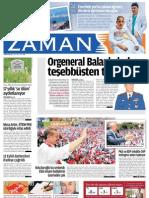 Orgeneral Balanlı darbeye teşebbüsten tutuklandı Zaman Gazetesi 31/05/2011