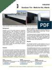 Solarwall Case Study - GoodYear Tire - (solar air heating system)