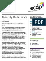 ecdp Monthly Bulletin 25