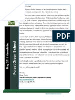 May 2011 Newsletter (Forest Green)