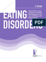 Critical Points for Early Recognition and Medical Risk Management in the Care of Individuals With Eating Disorders- AED Brochure