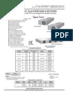 TSG7000-Unipower 48V 10A Rectifier Module