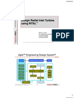 2 Design Radial Inflow Turbine Using Rital
