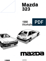 complete 1988 mazda 323 workshop manual belt mechanical rh scribd com Otawwa Workshop Manuals Craftsman Garage Door Opener Manual