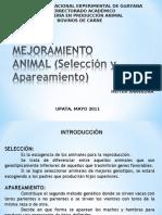 MEJORAMIENTO ANIMAL (Selección y Apareamiento)
