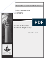 Minimum Wage Final Report