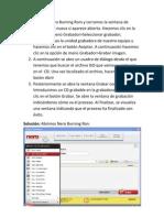 Restauración sobre CD de imagen ISO