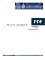 PBO Economic and Fiscal Outlook - June 2011