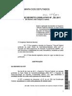 Projeto de Decreto Legislativo 221-2011
