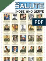 Salute those who serve