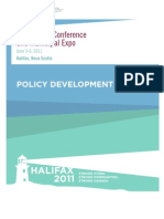 FCM Policy Development Guide