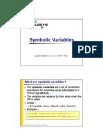 Telosys-SymbolicVar-v1.0