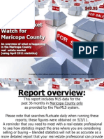 Monthly Market Watch for April 2011