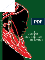 Gender Inequalitiues Kenya