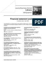 Financial Statement Analysis - Melbourne Business School Library