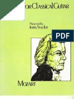 MOZART - Mozart for Classical Guitar (Transc Snyder) Chitarra