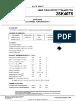 2SK4075 - 40V,60A