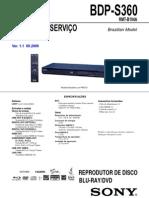 BDP-S360 Ver 1.1(BR)