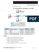 Configuration Du Commutateur Cisco 2960