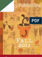 Storey's Fall 2011 Catalog