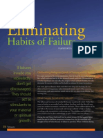 Eliminate Habits of Failure