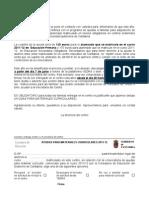 Carta Familias Ayudas para material curricular curso 2011-2012