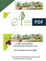"""""""Le Pôle Oenotouristique de Saint-Cristhol, un projet intercommunal. du Pays de Lunel"""", Jean-Luc Bergeon i Laurence Mauxion"""
