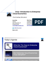 Introduction to Enterprise Cloud Economics - Everest Group Webinar