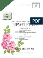 Body of Newsletter June 2011