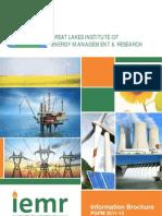 GLIEMR PGPM 2011-13 Information Brochure