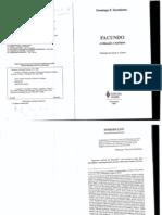 04 - SARMIENTO,D.F - facundo.Civilizaçao e barbarie.introduçao ( 42 cps)