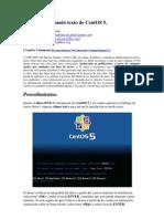 2. Instalación en modo texto de CentOS 5