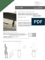 Mobiliario urbano Proiek - Bolardo Eki
