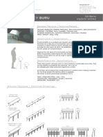 Mobiliario urbano Proiek - Divisor Buru