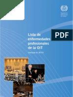 Lista de enfermedades profesionales de la OIT (revisada en 2010)