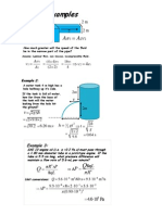 Fluid Lecture Examples