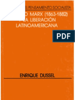El último Marx y la Liberación latinoamericana