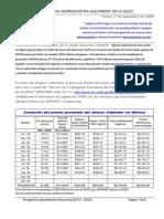 Prospectiva Azucarera 2010