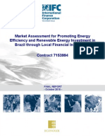 Market Assessment for Promoting Energy Efficiency and Renewable Energy Investment in Brazil through local Financial Institutions