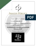 Trabajo Final de La Blackberry