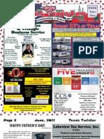 Texas Twister Magazine - June 2011